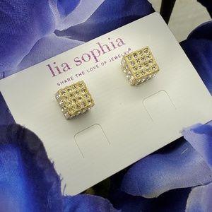 Lia Sophia Roll the Dice Earrings